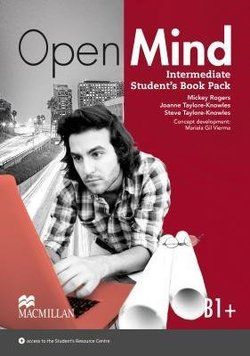 Open Mind Intermediate Student's Book with Video-DVD ISBN: 9780230458307