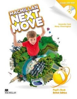 Macmillan Next Move 1 Pupil's Book with DVD-ROM ISBN: 9780230466319