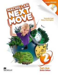 Macmillan Next Move 2 Pupil's Book with DVD-ROM ISBN: 9780230466388