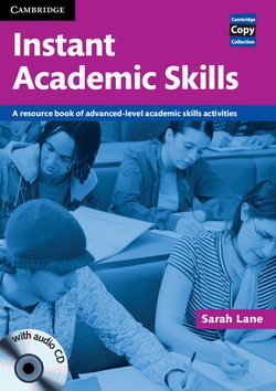 Instant Academic Skills Book with Audio CD ISBN: 9780521121620