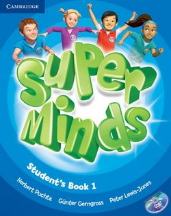 Super Minds 1 Student's Book with DVD-ROM ISBN: 9780521148559