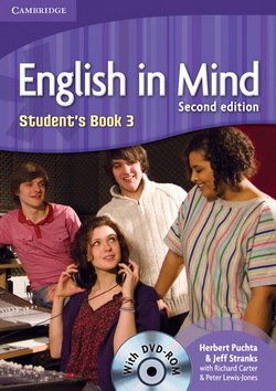 English in Mind (2nd Edition) 3 Student's Book with DVD-ROM ISBN: 9780521159487