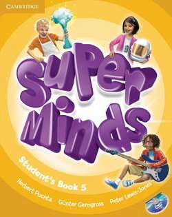 Super Minds 5 Student's Book with DVD-ROM ISBN: 9780521223355