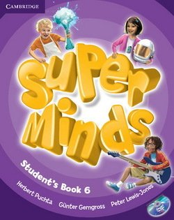 Super Minds 6 Student's Book with DVD-ROM ISBN: 9780521223874