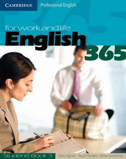 English 365 Level 3 Student's Book ISBN: 9780521549165