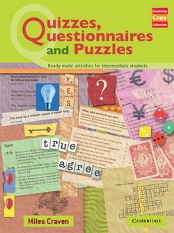 Quizzes, Questionnaires and Puzzles ISBN: 9780521605823