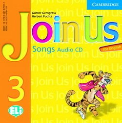 Join Us for English 3 Songs Audio CD ISBN: 9780521679411