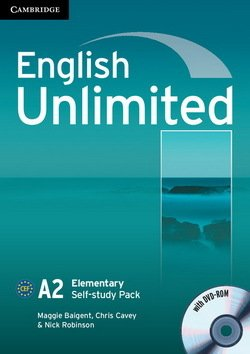 English Unlimited Elementary Workbook with DVD-ROM ISBN: 9780521697743