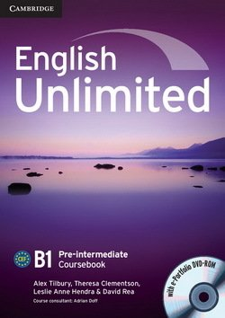 English Unlimited Pre-Intermediate Coursebook with e-Portfolio ISBN: 9780521697774