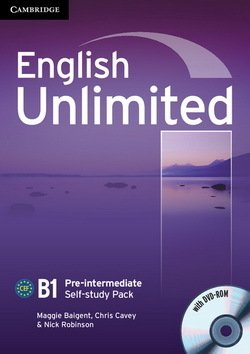 English Unlimited Pre-Intermediate Workbook with DVD-ROM ISBN: 9780521697781