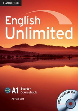 English Unlimited Starter Coursebook with e-Portfolio ISBN: 9780521726337