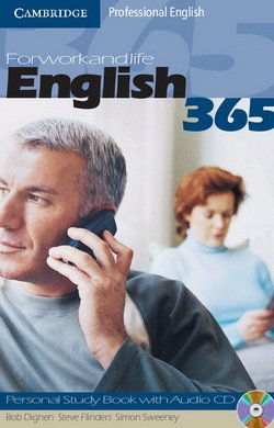 English 365 Level 1 Personal Study Book with Audio CD ISBN: 9780521753647