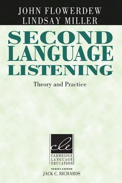 Second Language Listening (Paperback) ISBN: 9780521786478
