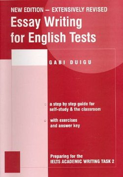 Essay Writing for English Tests ISBN: 9780957899612