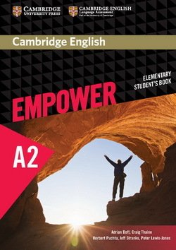 Cambridge English Empower Elementary A2 Student's Book