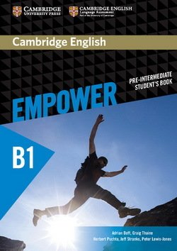 Cambridge English Empower Pre-Intermediate B1 Student's Book ISBN: 9781107466517