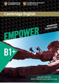 Cambridge English Empower Intermediate B1+ Student's Book