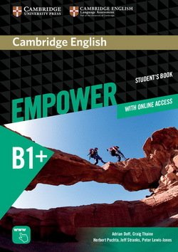 Cambridge English Empower Intermediate Student's Book with Online Assessment & Practice, & Online Workbook ISBN: 9781107466883