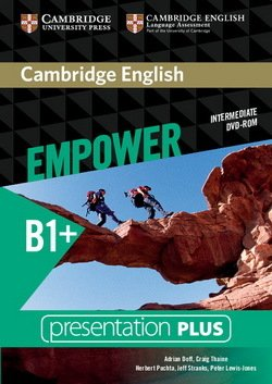Cambridge English Empower Intermediate B1+ Presentation Plus DVD-ROM ISBN: 9781107468566