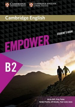 Cambridge English Empower Upper Intermediate B2 Students Book ISBN 9781107468726