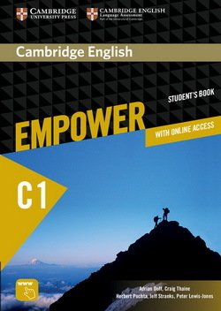 Cambridge English Empower Advanced Student's Book with Online Assessment & Practice, & Online Workbook ISBN: 9781107469099