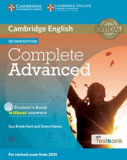 Complete Advanced (2nd Edition) Student's Book without Answers with CD-ROM & Testbank ISBN: 9781107501317