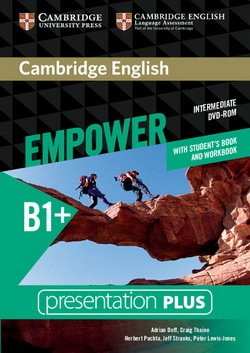 Cambridge English Empower Intermediate B1+ Presentation Plus DVD-ROM with Student's Book and Workbook ISBN: 9781107562523