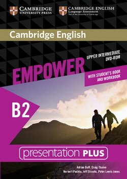 Cambridge English Empower Upper Intermediate B2 Presentation Plus DVD-ROM with Student's Book and Workbook ISBN: 9781107562561