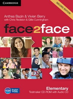 face2face (2nd Edition) Elementary Testmaker CD-ROM & Audio CD ISBN: 9781107609945