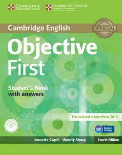 Objective First FCE 4th Edition Students Book with Answers  CD-ROM ISBN 9781107628304