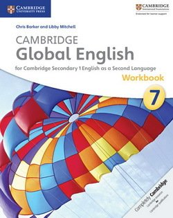 Cambridge Global English Stage 7 (Secondary) Workbook with Audio CD ISBN: 9781107643727