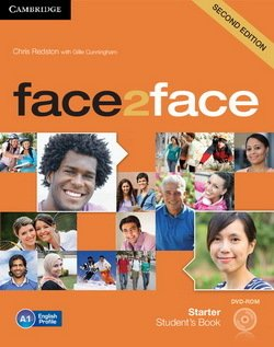 face2face (2nd Edition) Starter Student's Book with DVD-ROM ISBN: 9781107654402