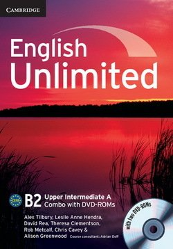 English Unlimited Upper Intermediate A Combo (Split Edition - Student's Book & Workbook) with DVD-ROMs (2) ISBN: 9781107656796