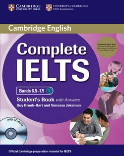 Complete IELTS Bands 6.5-7.5 Student's Pack (Student's Book with Answers, CD-ROM & Class Audio CDs (2)) ISBN: 9781107688636