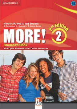 More! (2nd Edition) 2 Student's Book with Cyber Homework & Online Resources ISBN: 9781107694781