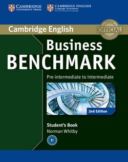 Business Benchmark (2nd Edition) Pre-Intermediate to Intermediate BULATS Student's Book ISBN: 9781107697812