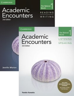 Academic Encounters (2nd Edition) 1: The Natural World Two Book Set (R&W Student's Book with WSI & L&S Student's Book with IDL) ISBN: 9781108348300