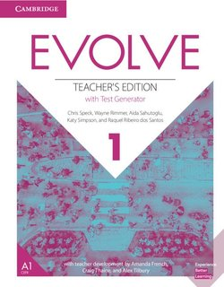 Evolve 1 Teacher's Edition with Test Generator ISBN: 9781108405126