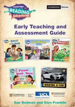 Cambridge Reading Adventures - Teaching and Assessment Guide Early: Pink A, Pink B, Red, Yellow & Blue Bands ISBN: 9781108585101