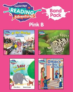 Cambridge Reading Adventures: Band Pack - Pink B (Pre-A1 / Starter)  ISBN: 9781108593090