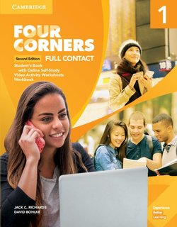 Four Corners (2nd Edition) 1 Full Contact (Student's Book & Printed Workbook) with Online Self-Study ISBN: 9781108644648