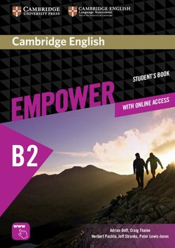 Cambridge English Empower Upper Intermediate B2 Student's Book Pack with Online Workbook, Academic Skills & Reading Plus ISBN: 9781108754941