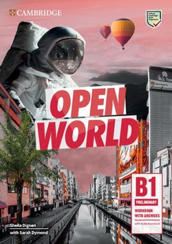 Open World B1 Preliminary Workbook with Answers with Audio Download ISBN: 9781108759243