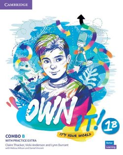 Own it! 1 Combo B (Split Edition -Student's Book & Workbook with Practice Extra) ISBN: 9781108772693