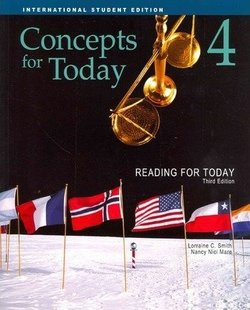 Reading for Today (3rd Edition) 4 - Concepts - Student's Book ISBN: 9781111056582
