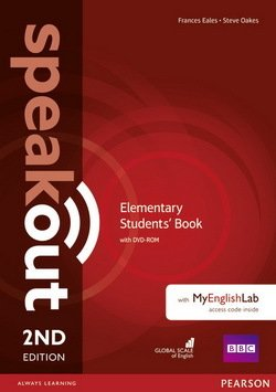 Speakout (2nd Edition) Elementary Coursebook with DVD-ROM & MyEnglishLab ISBN: 9781292115931