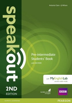 Speakout (2nd Edition) Pre-Intermediate Coursebook with DVD-ROM & MyEnglishLab ISBN: 9781292115962