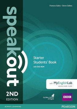 Speakout (2nd Edition) Starter Coursebook with DVD-ROM & MyEnglishLab ISBN: 9781292115993