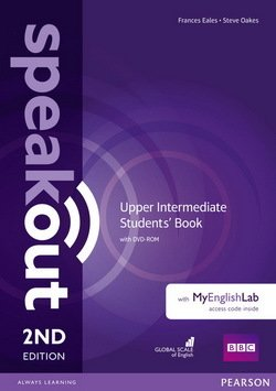 Speakout (2nd Edition) Upper Intermediate Coursebook with DVD-ROM & MyEnglishLab ISBN: 9781292116006