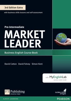 Market Leader (3rd Edition) Pre-Intermediate Extra Coursebook with DVD-ROM ISBN: 9781292134796